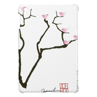 Kirschblüte und 7 rosa Vögel 1, tony fernandes iPad Mini Hülle