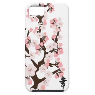 Kirschblüte und Kanji-Case-Mate stark iPhone 5 Schutzhüllen