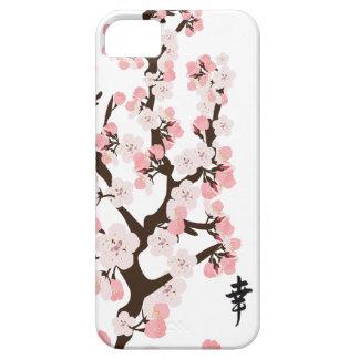 Kirschblüte und -Kanji Etui Fürs iPhone 5