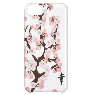 Kirschblüte und -Kanji iPhone 5C Hüllen