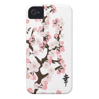 Kirschblüte und -Kanji Case-Mate iPhone 4 Hüllen