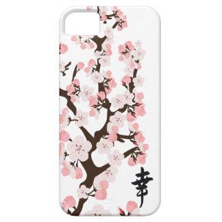 Kirschblüte und -Kanji iPhone 5 Identifikation iPhone 5 Schutzhülle