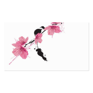 Kirschblüte-Visitenkarte