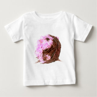 Kirschblüte Yin Yang Baby T-shirt
