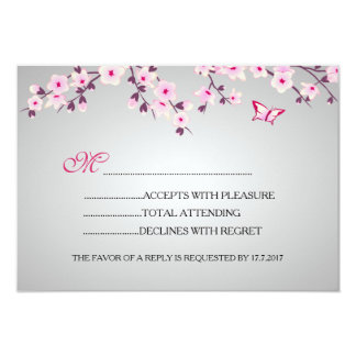 Kirschblüten-Baby-Dusche UAWG Karte