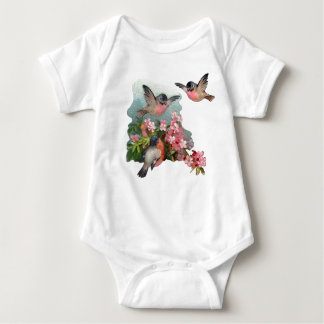 Kirschblüten-Baby-Strampler Baby Strampler