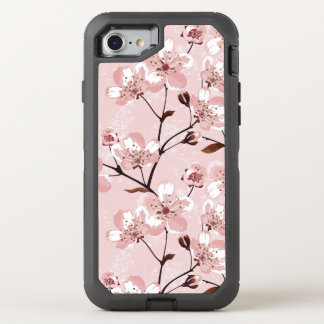 Kirschblüten-Blumen-Muster OtterBox Defender iPhone 8/7 Hülle