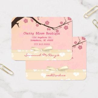 Kirschblüten-Butike-Geschäfts-Karten Visitenkarte