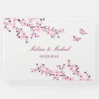 Kirschblüten, die Gast-Buch Wedding sind Gästebuch