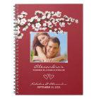 Kirschblüten, die Planer-Notizbuch (Aqua, Wedding Notizblock
