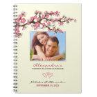 Kirschblüten, die Planer-Notizbuch Wedding sind Notizblock