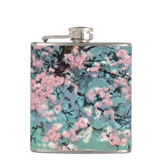 Kirschblüten-Flasche Flachmann