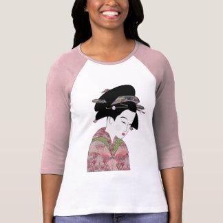 Kirschblüten-Geisha T-Shirt