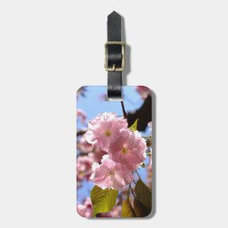 Kirschblüten-Gepäckanhänger Kofferanhänger