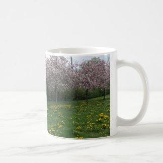 Kirschblüten in HOMA Kaffeetasse