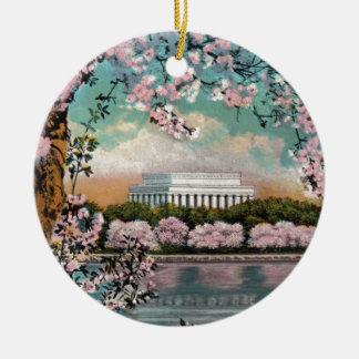 Kirschblüten Keramik Ornament