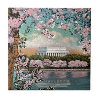 Kirschblüten Keramikfliese