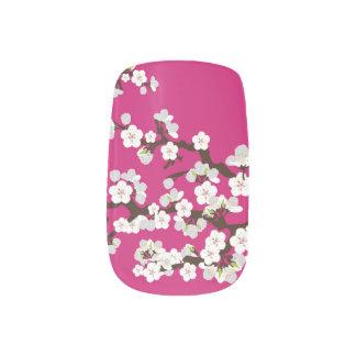 Kirschblüten-KirschblüteMinxfuchsie) Minx Nagelkunst