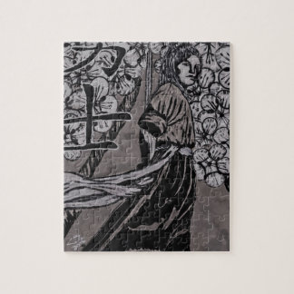 Kirschblüten-Krieger durch Carter L Schäfer Puzzle