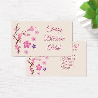 Kirschblüten-Kunst Visitenkarte