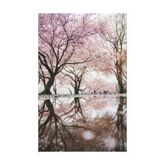 Kirschblüten Leinwanddruck