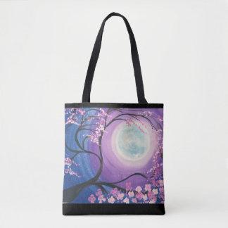 Kirschblüten-Mond-Tasche Tasche
