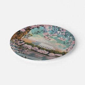 Kirschblüten-PapierTeller Pappteller