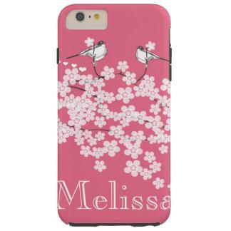 Kirschblüten personalisierter iPhone Fall Tough iPhone 6 Plus Hülle