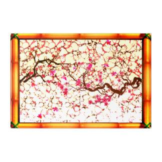 Kirschblüten-Rosa Acryldruck