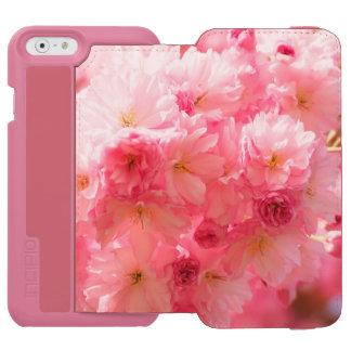 Kirschblüten-Rosa-Art Incipio Watson™ iPhone 6 Geldbörsen Hülle