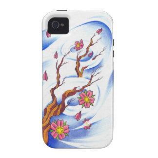 Kirschblüten-Tätowierung redete iPhone 4/4S Fall iPhone 4/4S Hüllen