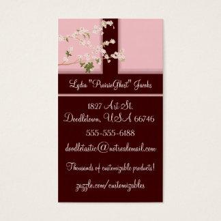 Kirschblüten-Visitenkarte Visitenkarte