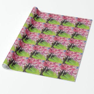 Kirschblütenkunst Kirschblütes japanische Geschenkpapier
