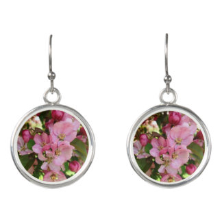 Kirschblütenohrringe Ohrringe