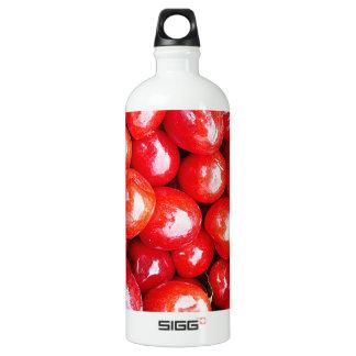 Kirsche Frucht-, diegesundheit gesunde rosa Wasserflasche