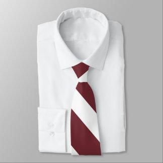 Kirsche - n-Molkereihochschulstreifen Krawatte