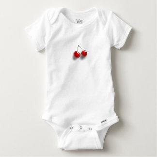 Kirschen Baby Strampler
