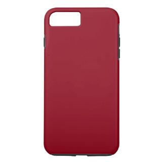 KIRSCHrot (eine feste fruchtige Farbe) ~~ iPhone 8 Plus/7 Plus Hülle