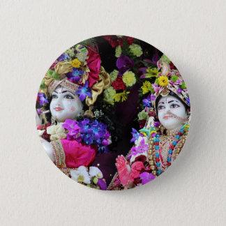 Kishore Kishori Runder Button 5,1 Cm