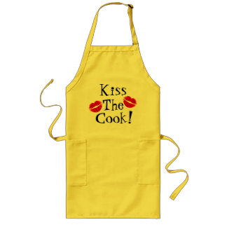 Kiss The Cook!  Apron