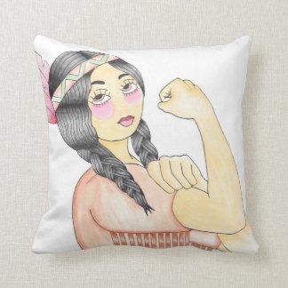 Kissen autochtone Frau