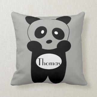 Kissen Baby Panda mit Vorname