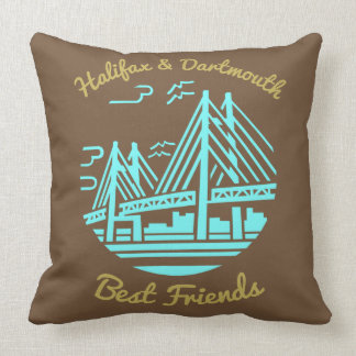 Kissen bester Freunde Neuschottlands Halifax