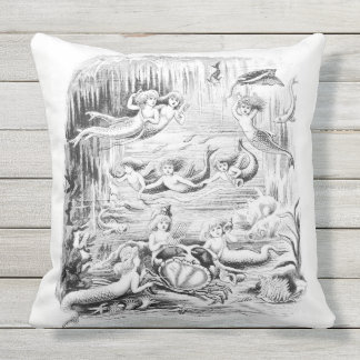 Kissen der Meerjungfrau-3 im Freien