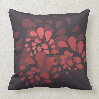 Kissen impressionistische Gestaltung Blumen