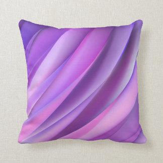 Kissen in der modernen lila abstrakten Art