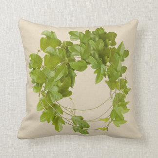 kissen mit den grünen Blättern der trepadora