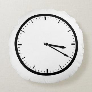 Kissen-Uhren Rundes Kissen