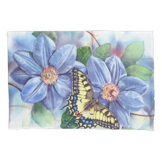 Kissenbezug des Aquarell-Schmetterlings-(1 Seite)