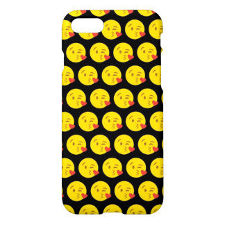 Kissy stellen Emoji iPhone 7 glatten Fall iPhone 8/7 Hülle